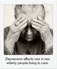 Depression in aged care